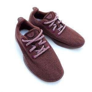 Allbirds Maroon All Red Wool Runners Shoes